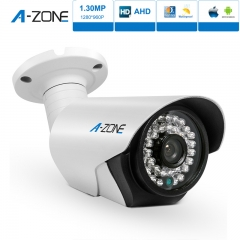 A-ZONE HD 1.30MP Waterproof Bullet Fixed Lens Night Vision 960P Home CCTV Surveillance Camera