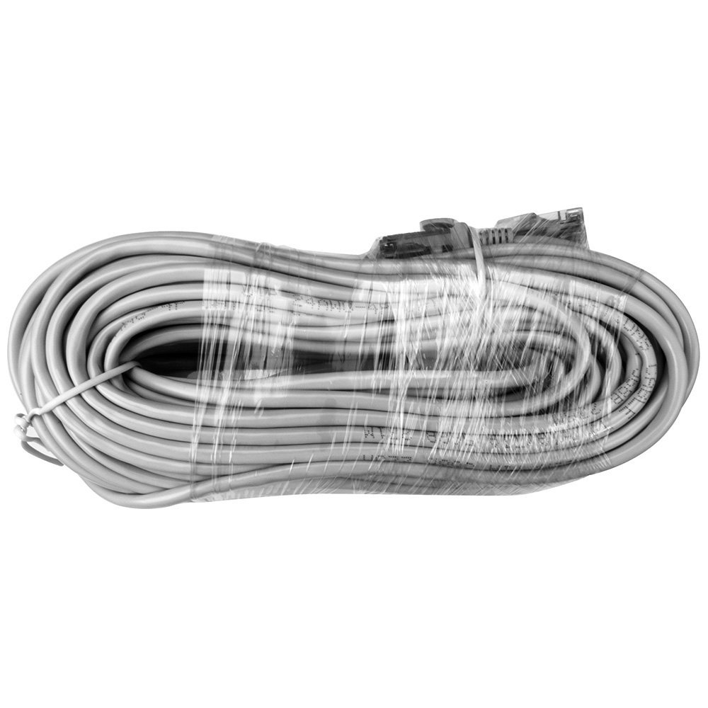 White A-ZONE Cables 100ft Cat5 RJ45 Ethernet Network Cable
